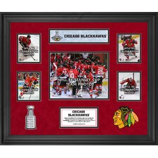 NHL 2013 Stanley Cup Champions Framed 5-Photograph Collage