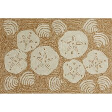 Frontporch Natural Shell Toss Rug