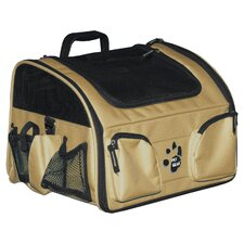 Bike Basket 3-in-1 Pet Carrier in Tan
