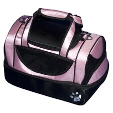 Aviator Bag Pet Carrier in Crystal Pink