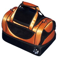 Aviator Bag Pet Carrier in Tangerine