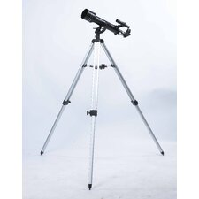 683x Refractor Telescope in Black