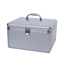 Aluminum-Like Hard CD Case in Silver - 300 Disc Capacity