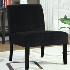 Velvet Slipper Chair