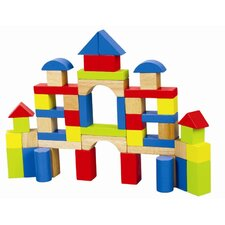 50 Piece Rainbow Block Set