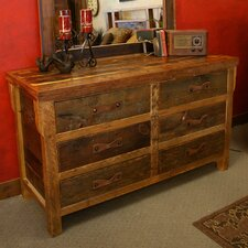 Black Mountain 6 Drawer Dresser