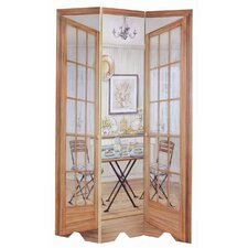 Dining Area Oversized 3 Panel Decorative Room Screen