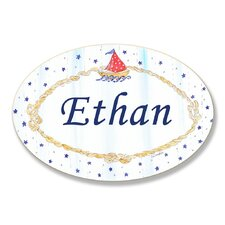 Kids Room Personalization Nautical Boys Wall Plaque