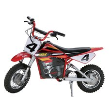 "Boys 16"" Dirt Rocket MX500 High Performance Electric Motocross Bike"
