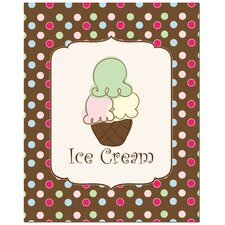 Sweet Ice Cream Art Print