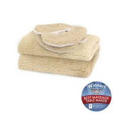 Fleece Pad in Natural White (2 Piece Set)