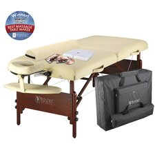 "30"" Del Ray Pro Package Massage Table in Cream"