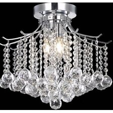 Jewel 3 Light Crystal Chandelier