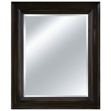 Urban Allure Wall Mirror in Burnt Sepia Brown
