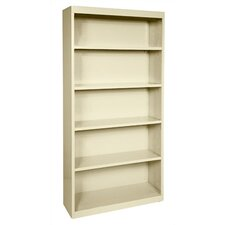 "72"" H Five Shelf Bookcase"