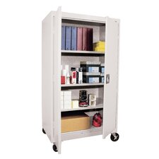 "Transport Three Shelf Large Mobile Storage - 66"" x 36"" x 24"""