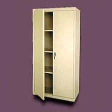 Valueline Deep Mobile Storage Cabinet with Fixed Shelves