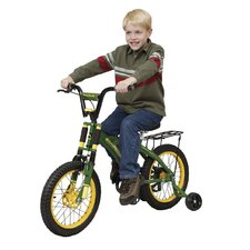 "16"" John Deere Bike with Training Wheels"