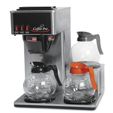 Coffee Pro Three-Burner Low Profile Institutional Coffee Maker