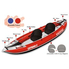 Cayman II Inflatable Kayak