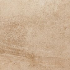 "18"" x 18"" Porcelain Field Tile in Beige Sandstone"