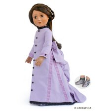 "Victorian Day Dress for 18"" Slim Dolls"