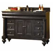 "Guild Hall 48"" Distressed Bathroom Vanity Base"