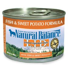 Limited Ingredient Diets Fish and Sweet Potato Formula Wet Dog Food (6-oz, case of 12)