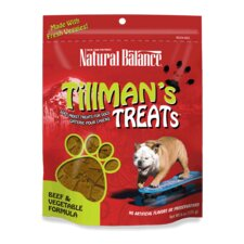 Tillman's Beef and Vegetable Formula Dog Treats