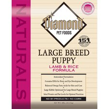 Natural Large Breed Lamb and Rice Puppy Dry Dog Food