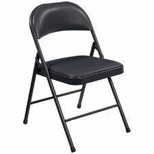 Commercialine Vinyl Padded Folding Chair