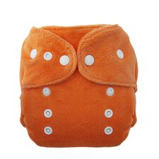 Duo Fab Fitted Diaper Snap in Mango