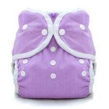 Duo Wrap Snap Diaper in Orchid
