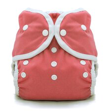 Duo Wrap Snap Diaper in Rose