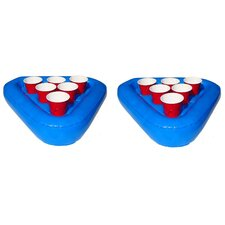 Floating Beer Pong Raft Set