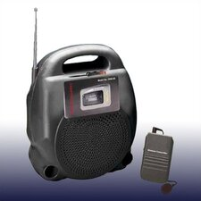 Portable Wireless PA w/Cassette
