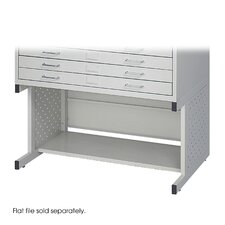 Facil Flat Small File High Base in Light Gray