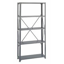 Commercial Steel Shelving Unit, 5 Shelves