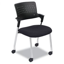 Spry Series Guest Chair With Casters