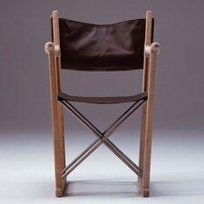 Oak/Leather Classic Director Chair