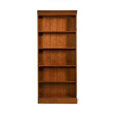 American Crossings Tall Bookcase in Fawn Cherry