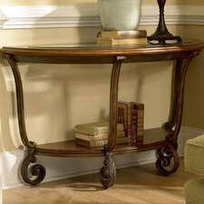 Fortunado Demi-Lune Console Table