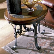 Stone Forge End Table