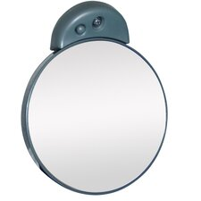 Lighted Spot Mirror in Black