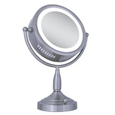 Dual-Sided Lighted Vanity Mirror