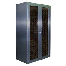 700 Brushed Aluminum Wine Cooler Cabinet