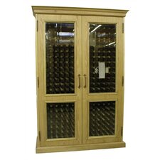 700 English Oak Wine Cooler Cabinet