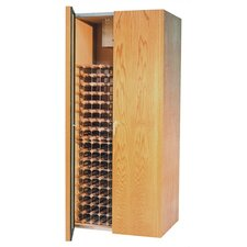 440 Two Door Oak Wine Cooler Cabinet