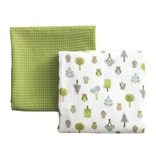 Owls Multi Swaddle Blanket - 2 Pack