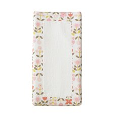 Rosette Blossom Changing Pad Cover